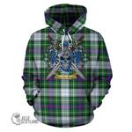 MacKenzie Dress Modern Tartan Hoodie Celtic Scottish Warrior A79
