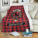 1stScotland Premium Blanket - Abernethy Tartan Crest Blanket A7