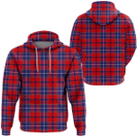 1stScotland Hoodie - Wishart Dress Tartan Hoodie A7