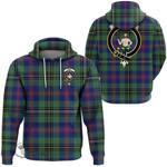 1stScotland Hoodie - Wood Modern Clan Tartan Crest Hoodie A7