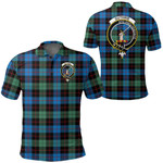 1stScotland Clothing - Guthrie Ancient Clan Tartan Crest Polo Shirt A7