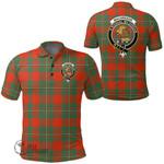 1stScotland Clothing - Macgregor Ancient Clan Tartan Crest Polo Shirt A7