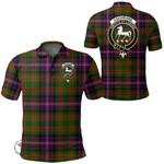1stScotland Clothing - Cochrane Modern Clan Tartan Crest Polo Shirt A7