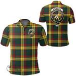 1stScotland Clothing - Macmillan Old Modern Clan Tartan Crest Polo Shirt A7