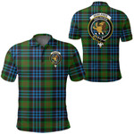 1stScotland Clothing - Newlands Of Lauriston Clan Tartan Crest Polo Shirt A7