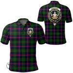 1stScotland Clothing - Urquhart Modern Clan Tartan Crest Polo Shirt A7
