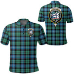 1stScotland Clothing - Galbraith Ancient Clan Tartan Crest Polo Shirt A7