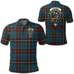 1stScotland Clothing - Fraser Hunting Ancient Clan Tartan Crest Polo Shirt A7