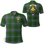 1stScotland Clothing - Pringle Clan Tartan Crest Polo Shirt A7