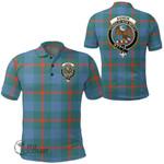 1stScotland Clothing - Agnew Ancient Clan Tartan Crest Polo Shirt A7