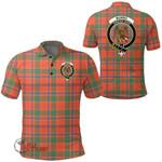 1stScotland Clothing - Munro Ancient Clan Tartan Crest Polo Shirt A7