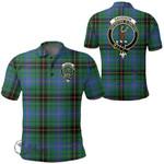 1stScotland Clothing - Davidson Ancient Clan Tartan Crest Polo Shirt A7