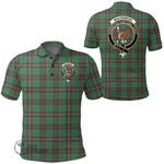 1stScotland Clothing - Mackinnon Hunting Ancient Clan Tartan Crest Polo Shirt A7