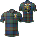 1stScotland Clothing - Nicolson Hunting Ancient Clan Tartan Crest Polo Shirt A7