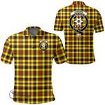1stScotland Clothing - Jardine Clan Tartan Crest Polo Shirt A7