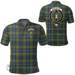 1stScotland Clothing - Maclellan Ancient Clan Tartan Crest Polo Shirt A7