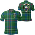 1stScotland Clothing - Duncan Ancient Clan Tartan Crest Polo Shirt A7