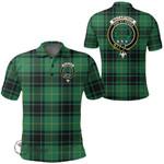 1stScotland Clothing - Macarthur Ancient Clan Tartan Crest Polo Shirt A7