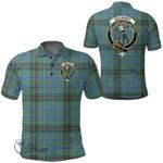 1stScotland Clothing - Macinnes Ancient Clan Tartan Crest Polo Shirt A7