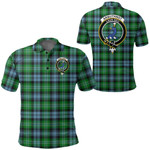 1stScotland Clothing - Arbuthnot Ancient Clan Tartan Crest Polo Shirt A7