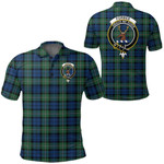 1stScotland Clothing - Forbes Ancient Clan Tartan Crest Polo Shirt A7