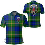 1stScotland Clothing - Maitland Clan Tartan Crest Polo Shirt A7