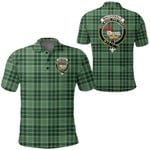 1stScotland Clothing - Macdonald Lord Of The Isles Hunting Clan Tartan Crest Polo Shirt A7