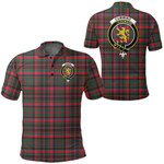 1stScotland Clothing - Cumming Hunting Modern Clan Tartan Crest Polo Shirt A7