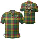 1stScotland Clothing - Macmillan Old Ancient Clan Tartan Crest Polo Shirt A7