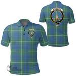 1stScotland Clothing - Macintyre Hunting Ancient Clan Tartan Crest Polo Shirt A7