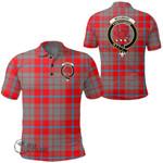 1stScotland Clothing - Moubray Clan Tartan Crest Polo Shirt A7