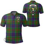 1stScotland Clothing - Stewart Of Appin Hunting Modern Clan Tartan Crest Polo Shirt A7