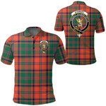 1stScotland Clothing - Stewart Of Appin Ancient Clan Tartan Crest Polo Shirt A7