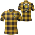 1stScotland Clothing - Macleod Of Lewis Ancient Clan Tartan Crest Polo Shirt A7