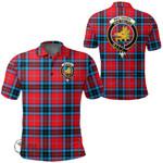 1stScotland Clothing - Mactavish Modern Clan Tartan Crest Polo Shirt A7