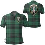 1stScotland Clothing - Maclean Hunting Clan Tartan Crest Polo Shirt A7