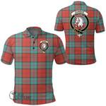 1stScotland Clothing - Dunbar Ancient Clan Tartan Crest Polo Shirt A7