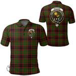 1stScotland Clothing - Buchan Modern Clan Tartan Crest Polo Shirt A7
