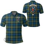 1stScotland Clothing - Colquhoun Ancient Clan Tartan Crest Polo Shirt A7