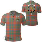 1stScotland Clothing - Mackintosh Ancient Clan Tartan Crest Polo Shirt A7