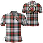 1stScotland Clothing - Macduff Dress Modern Clan Tartan Crest Polo Shirt A7