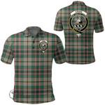 1stScotland Clothing - Craig Ancient Clan Tartan Crest Polo Shirt A7