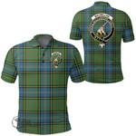 1stScotland Clothing - Macmillan Hunting Ancient Clan Tartan Crest Polo Shirt A7