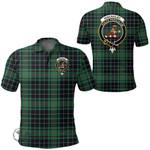 1stScotland Clothing - Macaulay Hunting Ancient Clan Tartan Crest Polo Shirt A7