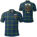 1stScotland Clothing - Baird Ancient Clan Tartan Crest Polo Shirt A7