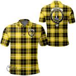 1stScotland Clothing - Barclay Dress Modern Clan Tartan Crest Polo Shirt A7