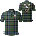 1stScotland Clothing - Cochrane Ancient Clan Tartan Crest Polo Shirt A7