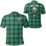 1stScotland Clothing - Kennedy Ancient Clan Tartan Crest Polo Shirt A7