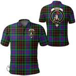 1stScotland Clothing - Brodie Hunting Modern Clan Tartan Crest Polo Shirt A7