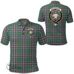 1stScotland Clothing - Macfarlane Hunting Ancient Clan Tartan Crest Polo Shirt A7